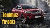 Toyota Hilux'ta 100 bin TL'ye 12 ay yüzde sıfır faiz fırsatı