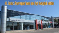 Toyota Plaza Bakırcılar bir kez daha Avrupa'nın en iyisi oldu