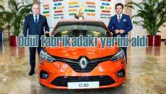 OGD Yılın Otomobili 2020 ödülü Oyak Renault Fabrikaları'nda yerini aldı