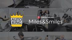 AUTO KING ve THY iş birliği mil kazandırıyor