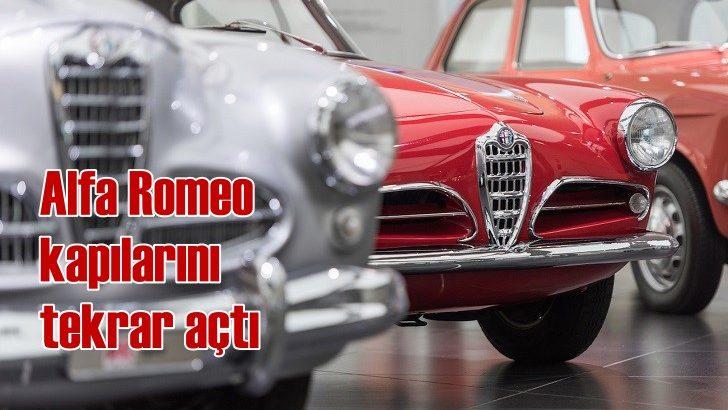 Alfa Romeo Müzesi kapılarını tekrar açtı