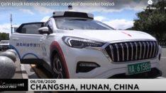 Çin'in birçok kentinde sürücüsüz 'Robotaksi' denemeleri başladı