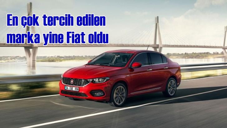Türkiye'nin en çok tercih edilen markası yine Fiat oldu