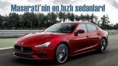 Maserati'nin en hızlı sedanları   Ghibli ve Quattroporte Trofeo tanıtıldı!