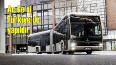 Elektrikli Mercedes eCitaro otobüsün Ar-Ge'si Türkiye'de yapıldı