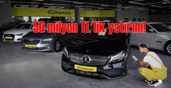 Türkiye'nin en büyük ikinci el oto tesisi açıldı!