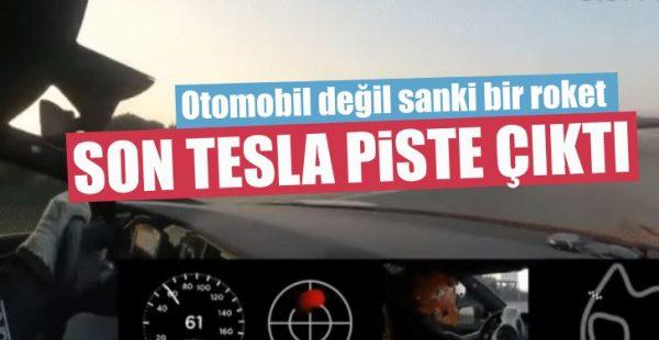 Tesla Model S Plaid Piste Çıktı