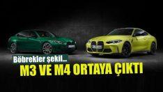 BMW M3 ve M4 ortaya çıktı!