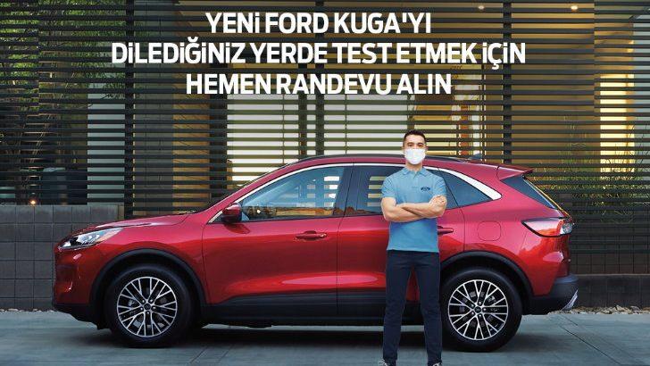 Yeni Ford Kuga ve Puma'yla 'Ford Kapında' test sürüşleri başlıyor!
