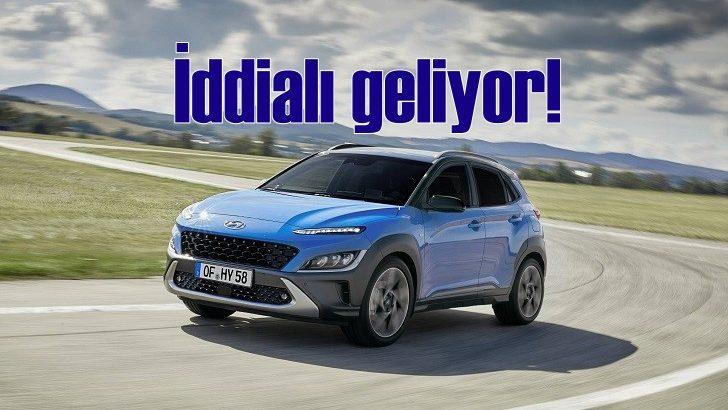 Hyundai Kona iddialı geliyor!