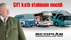 Dünyanın ilk çift katlı yolcu otobüsünün mucidi Konrad Auwarter 80 yaşında