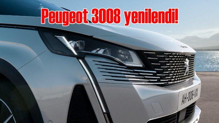 Peugeot'nun yok satan modeli 3008 yenilendi
