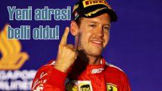 Ferrari pilotu Sebastian Vettel artık Aston Martin için yarışacak!