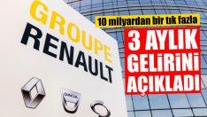 Renault 10 Milyar Euro Gelir Elde Etti
