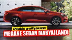 Renault Megane Sedan Makyajlandı!
