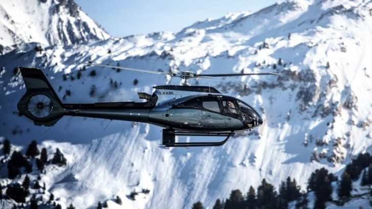 Bu da Aston Martin İmzalı Helikopter