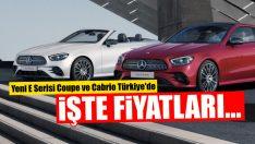 Yeni  E-Serisi Coupé ve Cabriolet Türkiye'de