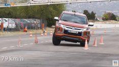 Yeni Mitsubishi L200 Geyik Testinde