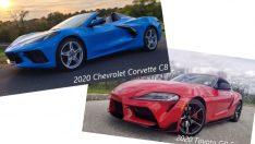 Supra ve Corvette Karşı Kaşıya
