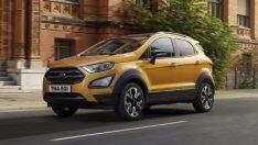 Ford Ecosport Active Ortaya Çıktı!