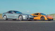 Mercedes SLR McLaren ve McLaren 540C Karşı Karşıya Geldi!