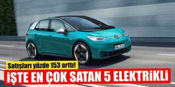 İşte Avrupa'da En Çok Satan Elektrikli Otomobiller