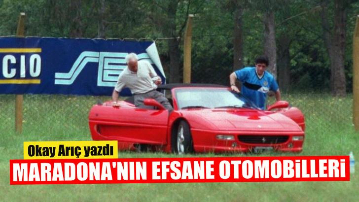 Maradona'nınefsane otomobilleri…