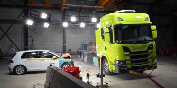 Scania, Batarya Testi İçin Golf'ü Feda Etti