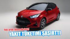Toyota Yaris'in Yakıt Tüketimi Şaşırttı