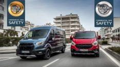 Euro Ncap'ten Transit ve Custom'a Ödül