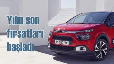 Citroën'de yılın son fırsatları başladı