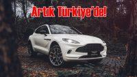 Aston Martin'in 'SUV'u DBX Türkiye'deki sahiplerine kavuştu