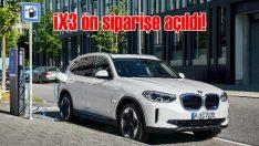 Tamamen elektrikli ilk 'X' modeli Yeni BMW iX3 ön siparişe açıldı