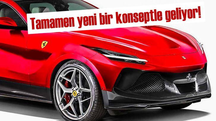 Ferrari'den tamamen yeni elektrikli SUV müjdesi!