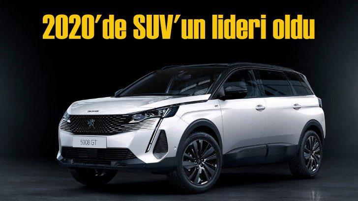 2020'de 26 bin adetlik satışla SUV'un lideri Peugeot Türkiye oldu