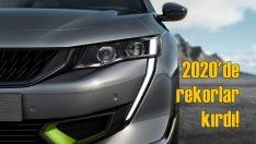 Peugeot 25 ülkede satış ve pazar payı rekoru kırdı