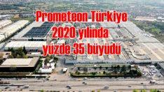 Prometeon Türkiye 2020'de pazarın üzerinde büyüdü!