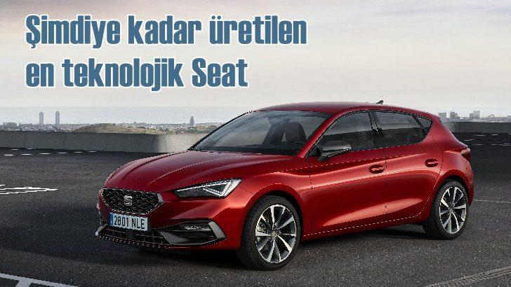 Şimdiye kadar üretilenen teknolojik en güvenli SEAT: Yeni Leon