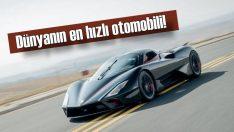 SSC Tuatara, 'Dünyanın en hızlı otomobili' olduğunu kanıtladı