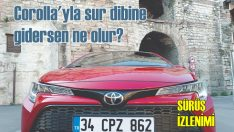Corolla HB ile İstanbul surlarında gezersen ne olur?