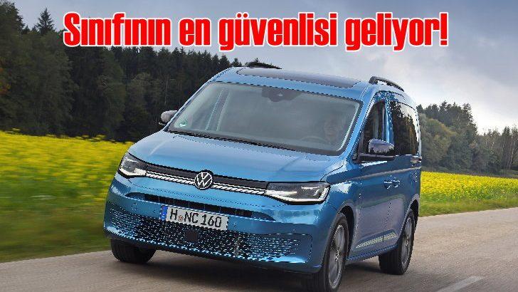 Volkswagen Caddy'nin 5. nesli Türkiye'de satışa sunuluyor