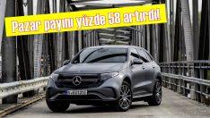 Mercedes-Benz pazardaki payını yüzde 58 oranında artırdı