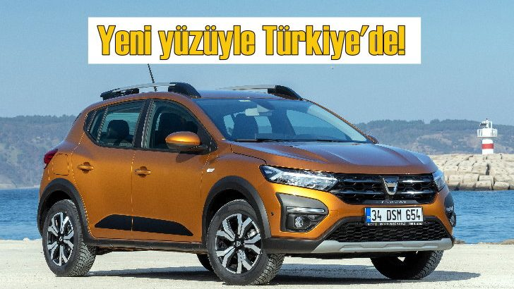 Dacia Sandero ve Sandero Stepway üçüncü nesliyle Türkiye'de!