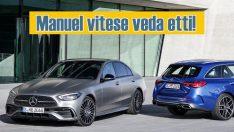 Yeni Mercedes-Benz C Serisi'nde otomatik vites standart oldu