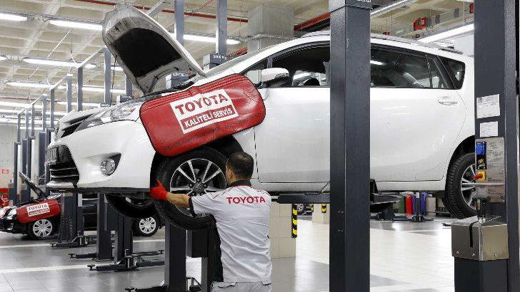 """Toyota Plaza Kar'dan fırsatlarla dolu """"İlkbahara Hazırlık"""" servis kampanyası"""