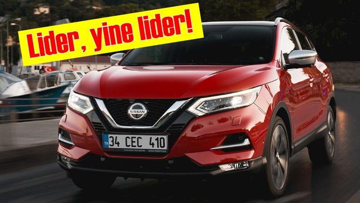 SUV'un öncüsü Nissan Qashqai yine lider!