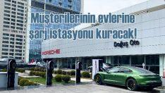 Porsche, Türkiye'de elektrikli otomobiller için şarj istasyonları kuruyor!