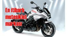 Suzuki, motosiklet kategorisinde yine yılın en itibarlı markası oldu!