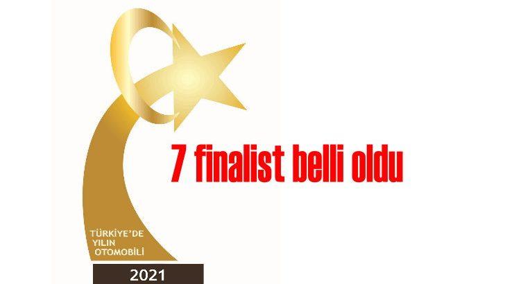 Türkiye'de Yılın Otomobili 2021 seçimi için 7 aday finalde