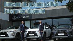 Dünyanın İlk Premium SUV'u Lexus RX,Enterprise Türkiye Filosunda!